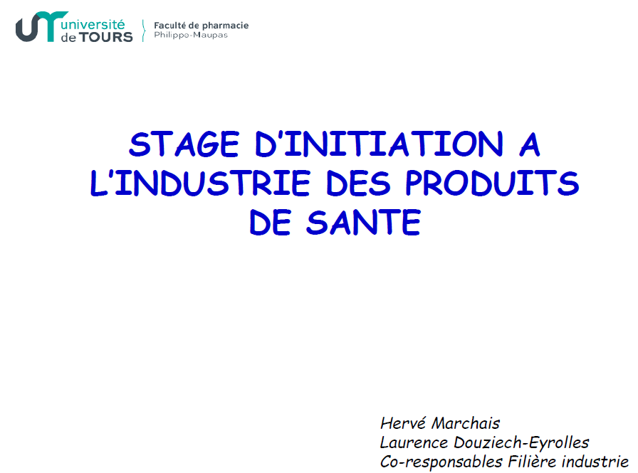 stage ouvirier