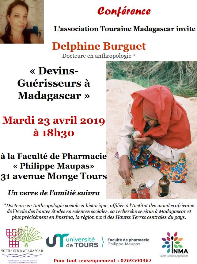 Conférence Touraine Madagascar